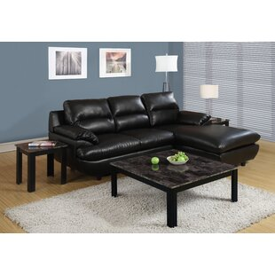 Willington 3 Piece Coffee Table Set