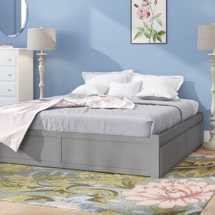 Savings Bolick Full Platform Bed with Trundle by Isabelle & Max Reviews (2019) & Buyer's Guide