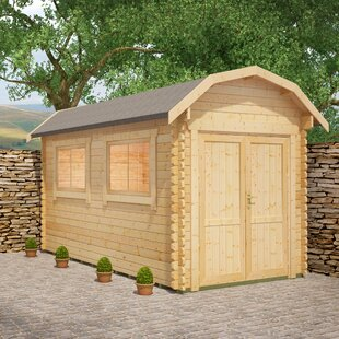Almeria 8 X 10 Ft. Tongue And Groove Log Cabin By Tiger Sheds