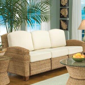 cabana banana sofa with cushions