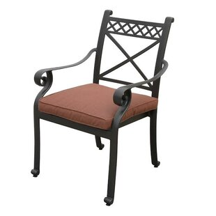 Bar Harbor Stacking Patio Dining Chair with Cushion (Set of 2) by California Outdoor Designs