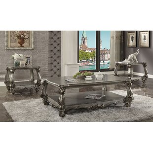 Welton 3 Piece Coffee Table Set