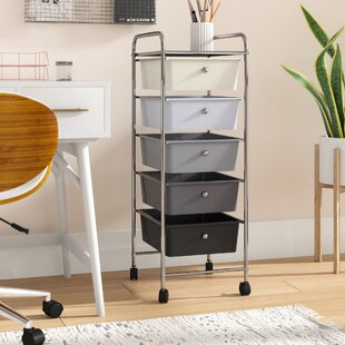 Reviews 5 Drawer Trolley Storage Chest By Rebrilliant