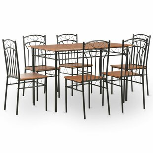 Fogle Dining Set With 6 Chairs By Lily Manor