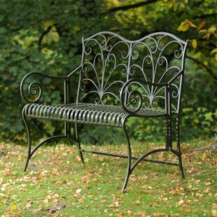 Newlin Steel Bench By Sol 72 Outdoor