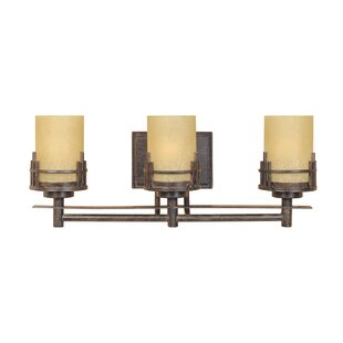 Great choice Mission Ridge 3-Light Vanity Light By Designers Fountain