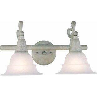 Toledo 2-Light Vanity Light by Volume Lighting