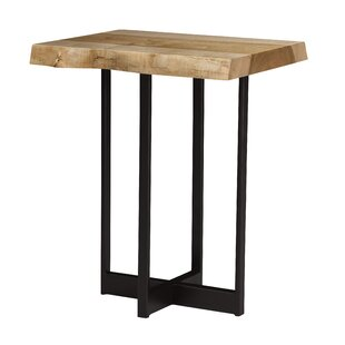 Live Edge Drinks End Table
