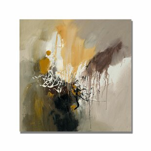 'Abstract I' Painting Print on Wrapped Canvas by Ebern Designs