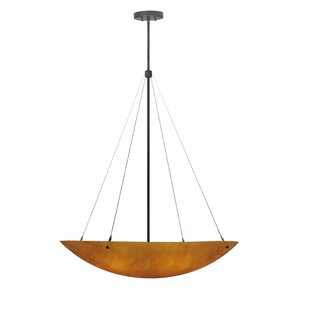Meyda Tiffany Cypola New Mica Acrylic 6-Light Bowl Pendant