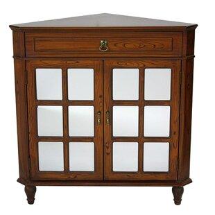 Knaresborough 2 Door Corner Accent Cabinet by Highland Dunes