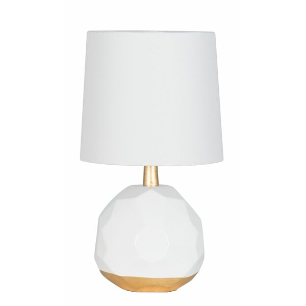 "Langley Street Drains Bog Geometric Dome 16"" Table Lamp & Reviews by Langley Street"