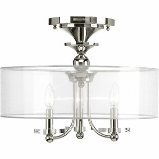 House of Hampton Elia 3-Light Semi Flush Mount