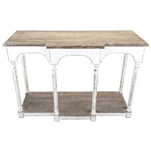 Paula Wooden Console Table