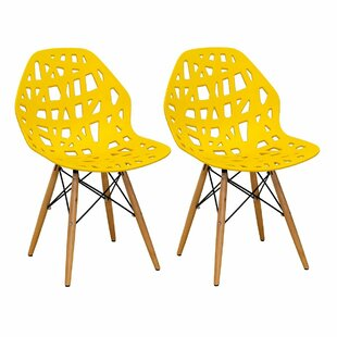 Josiah Stencil Cut Out Eiffel Dining Chair (Set of 2)