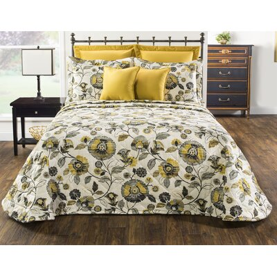 Hobart Single Bedspread Canora Grey Size: Twin Bedspread