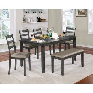 Dawkins Dining Set by Loon Peak
