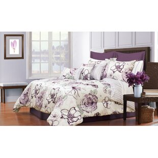 August Grove Hobart 5 Piece Comforter Set