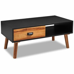 Indi Coffee Table with Storage by Wrought..