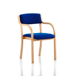 Mid-Back Visitor Chair With Arms By Mercury Row
