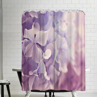 The Gingham Owl Dreamy Hydrangeas Shower Curtain