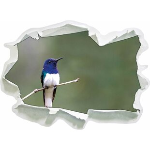 Small, Colourful Bird Wall Sticker By East Urban Home