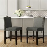 Heaton Counter & Bar Stool (Set of 2) by Charlton Home®
