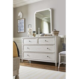 Serendipity 4 Drawer Dresser with Mirror