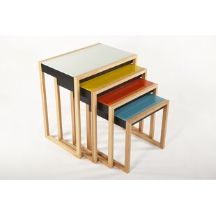 The Bayer 4 Piece Nesting Table Set by dCOR design