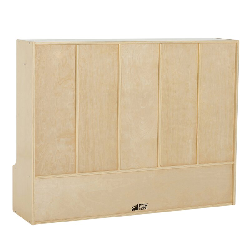 Birch Streamline 5 Section Coat Locker With Bench