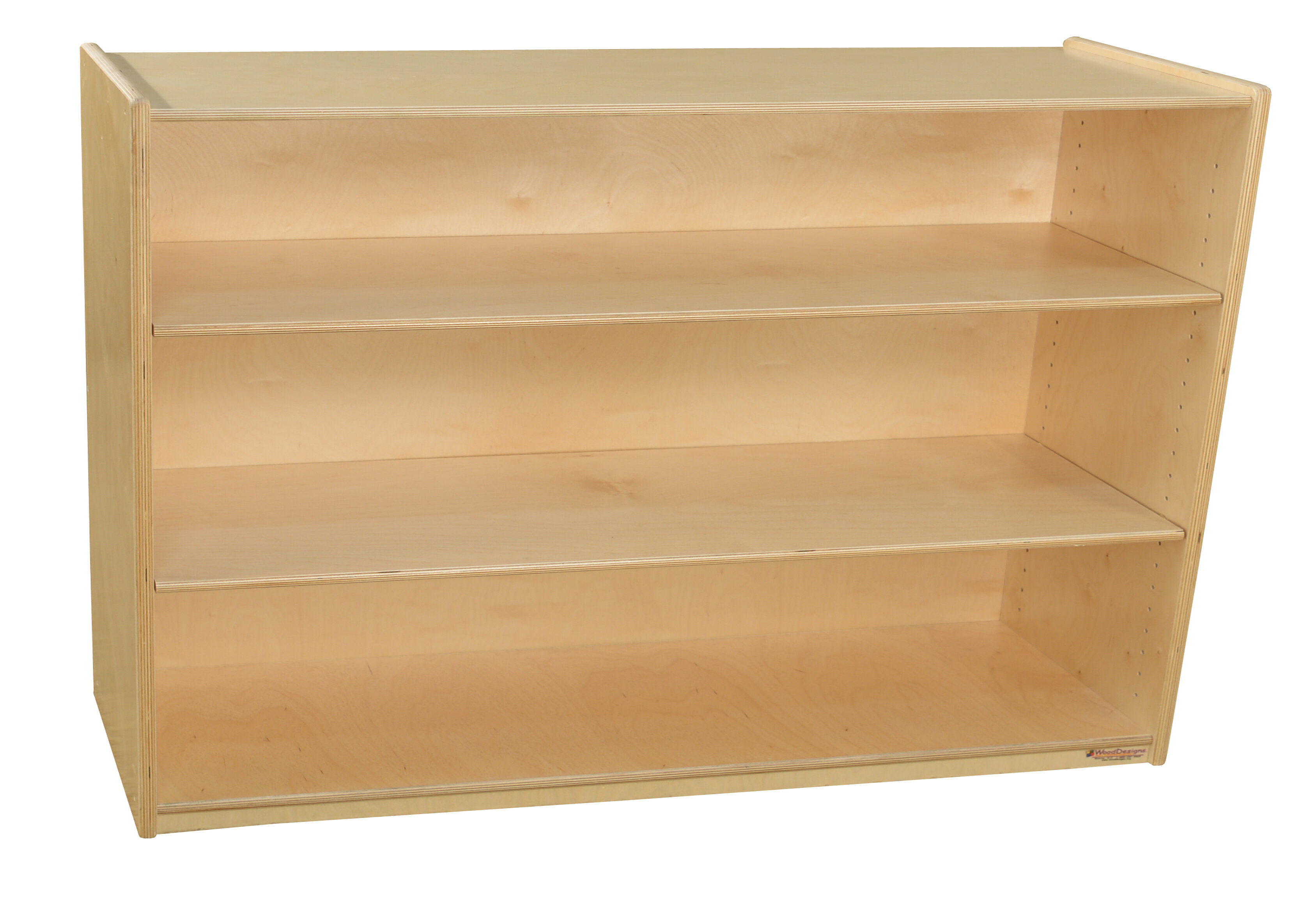 Wood Designs 3 Compartment Shelving