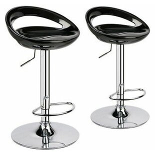 Kapono Modern ABS Hydraulic Adjustable Height Swivel Bar Stool (Set Of 2) Great price