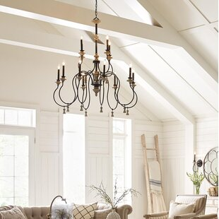 Ophelia & Co. Kanode 12-Light Chandelier