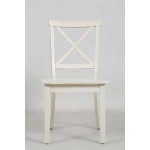 Dunster X Back Side Chair (Set of 2) by Alcott Hill