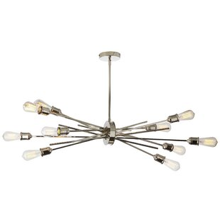 Brayden Studio Gracia Horizontal 10-Light Sputnik Chandelier