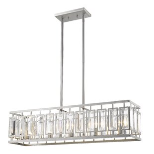 Everly Quinn Vella 5-Light LEDKitchen Island Pendant