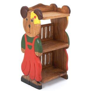 Girl Teddy Childs 78cm Bookshelf By Just Kids