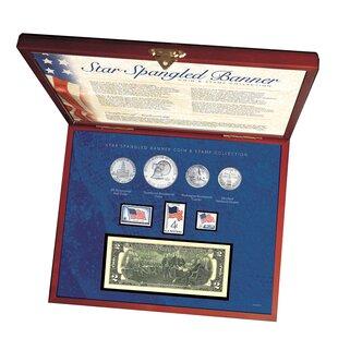 Reviews Star Spangled Coin and Stamp Display Box Set ByAmerican Coin Treasures
