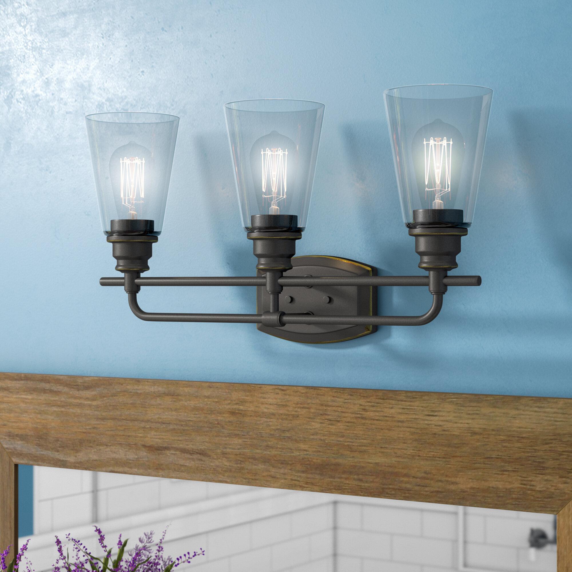 Outstanding 3 Light Vanity Light Pictures - Bathtub Ideas - dilata.info