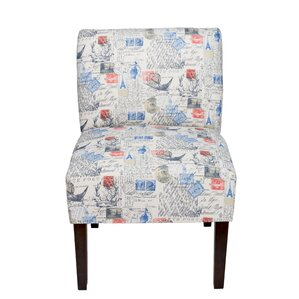 Brannan Primary Natural Slipper Chair by Win..