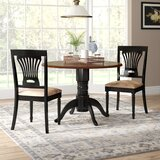 Thornhill 3 Piece Drop Leaf Solid Wood Dining Set by Alcott Hill®