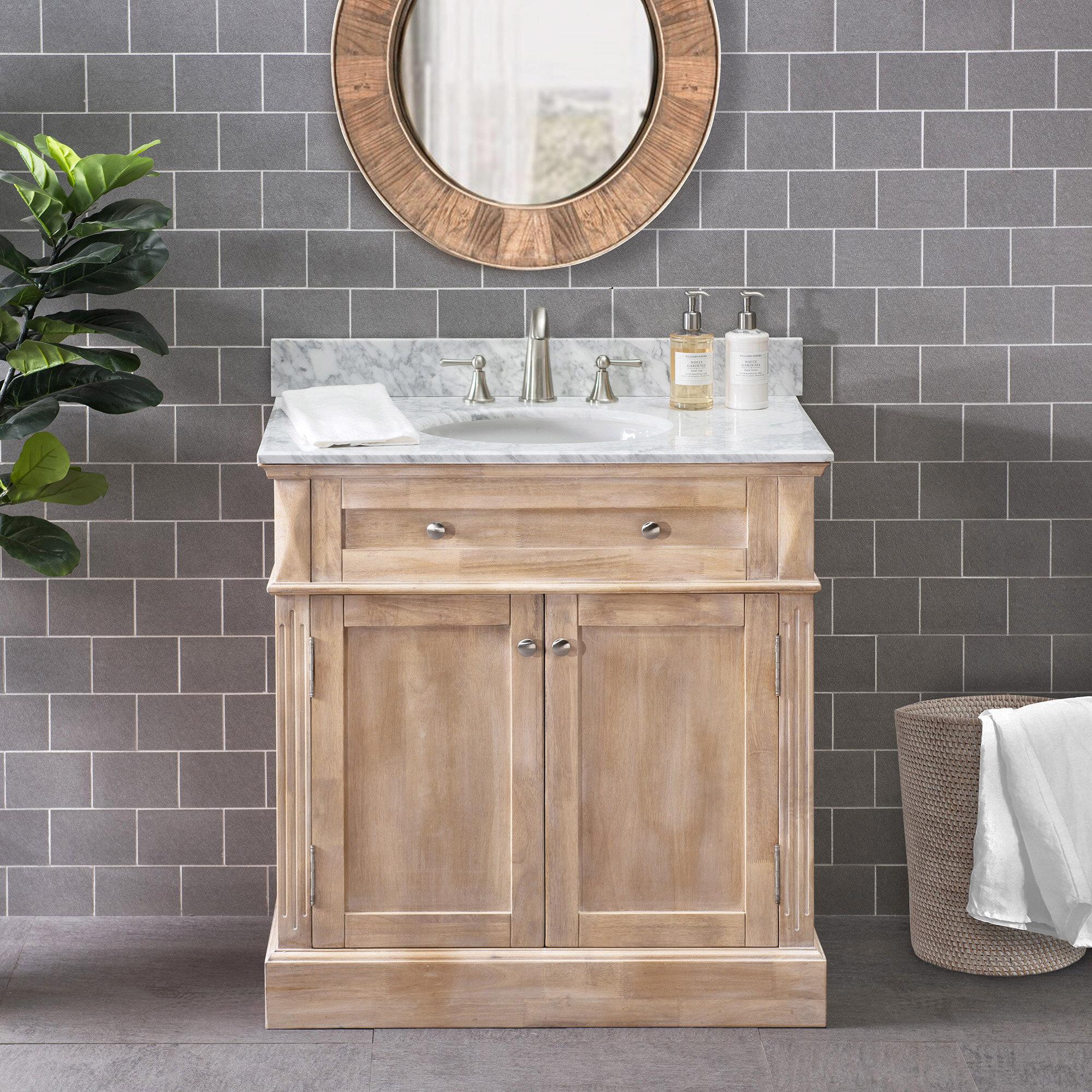 36 Inch Rustic Bathroom Vanities You Ll Love In 2021 Wayfair