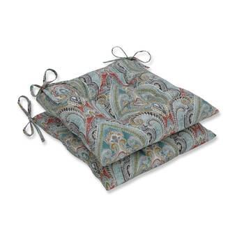 Charlton Home Kolling Indoor Outdoor Dining Chair Cushion Wayfair