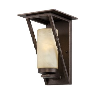 Top Parkview 1-Light Outdoor Sconce By Designers Fountain