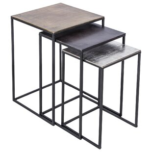 Affordable Ragusa 3 Piece Nesting Tables By Brayden Studio