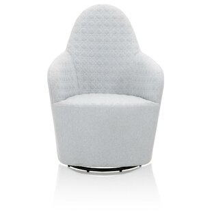 Safira Swivel Barrel Chair by Brayden Studio
