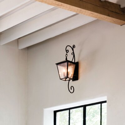 Trellis 4 light outdoor wall lantern