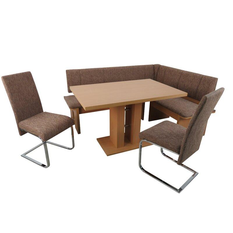 Ebern Designs Essgruppe Zaina Mit 2 Stühlen Und Einer
