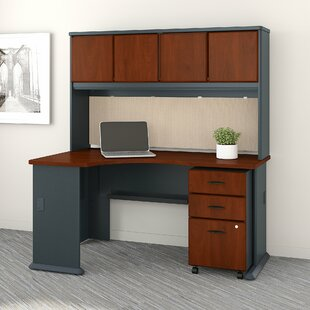 Series A Left Corner 3 Piece L-Shape Desk Office Suite by Bush Business Furniture Today Only Sale