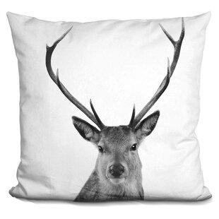 Hogge Deer Throw Pillow